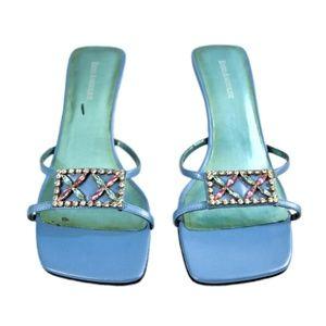 ENZO ANGIOLINI Embellished Mules